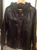 Куртка кожаная, одежда для бодибилдинга сигнальный, Прибрежный