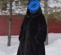 Шуба норковая, платье stilnyashka черное, Игрим