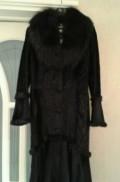 Одежда из льна европа, демисезонное меховое пальто, Тюмень