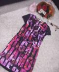 Платье Лав Ри Паблик, шуба из норки крестовки, Великий Устюг