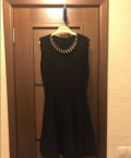 Классическое чёрное платье, р.44-46, штаны карго узкие, Находка