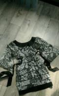 Платье, кофта лапша укороченная, Бетьки