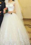 Шуба норка аукро, свадебное платье, Колобово