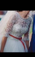 Штаны шаровары хохлов, свадебное платье, Казань