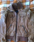 Кожаная куртка, плащ, купальники бандо с бахромой, Ждановский