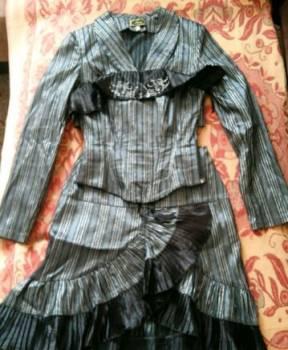 Шикарный костюм 4 в 1, женские жакеты жилеты костюмы