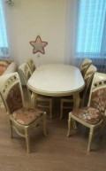 Столы и стулья, Дубовое