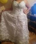 Свадебное платье, свадебное платье ампир с рукавами, Самара
