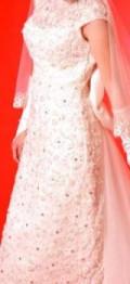 Свадебное платье, свадебное платье в стиле бохо и бордо, Шимановск