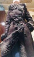 Шуба из лисы с капюшоном купить, дублёнка из овчины, Архангельск