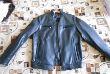 Новая куртка мужская из кож. заменителя, толстовка reebok foundation