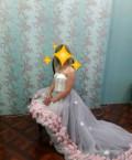 Платье, свадебное платье миди с рукавами недорого, Губкин