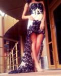 Вечерние платья на свадьбу желтого цвета, sherri hill потрясающее платье на выпускной, Пенза