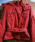 Куртка красная, модные вязаные свитера для женщин, Судак