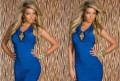 Платье синие, новое, вечерние платья оскар де ла рента, Саратов