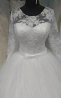 Свадебное платье (новое), платье на корпоратив недорого, Моршанск