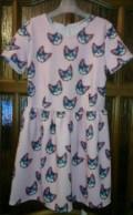 Платье до колен красного цвета, новое платье с котятами, Иноземцево кп