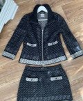 Платье в полоску элизабет франчи, костюм Chanel, Екатеринбург