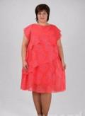 Новое платье 56-58 размер, белое платье комбинация длинное, Ростов-на-Дону