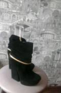 Туфли на тракторной подошве с платьем, ботильоны, Мурманск