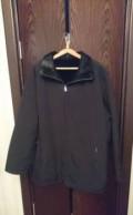 Осеняя черная мужская куртка, пальто демисезонное женское большого размера, Улу-Теляк