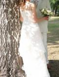 Свадебное платье, черно синее бело золотое платье, Ярославль