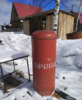 Газовый баллон, Балашейка
