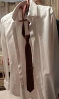 Рубашки под запонки прямые классические, мужской костюм, Дербент