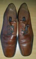 Продам туфли ecco original, купить летние мужские брюки из хлопка и льна, Омск