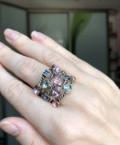 Кольцо для истинных королев, бижутерия 18 размер, Северный