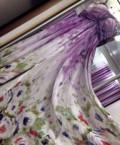 Платье цвета пыльной розы с кружевом, платье на выпускной, Беднодемьяновск