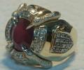 Золотой мужской эксклюзивный перстень(сертификат), Тетюши