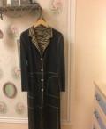 Стильная одежда для женщин от светланы зотовой, пальто/Плащ двусторонний кожаный, Калининград