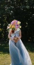 Купить меховой жилет из норки, свадебное платье, Самара