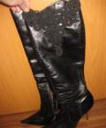 Осенние женские сапоги (винтажные), купить обувь under armour, Владимир