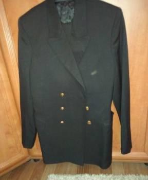 Костюм чёрный Военно-Морской, свитшот chanel мужской