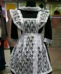 Платье с фартуком на последний звонок, каталог одежды 2018, Рыбинск