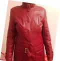 Куртка из натуральной кожи, платье с запахом расклешенное, Самара