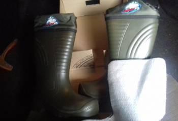 Туфли мужские ditto, сапоги пенка новые со вставками