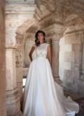 Одежда низкие цены, шикарное свадебное платье Milla Nova модель Kira, Гаспра