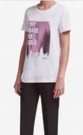 Красивая одежда для спорта, футболка Dkny, Белозерск
