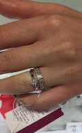 Кольцо с бриллиантами, Юбилейный