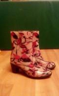 Сапоги резиновые, обувь zara прошлых коллекций, Бавлены