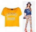 Платье bodyflirt синее купить, брюки и футболка Denny Rose, Черемное