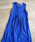 Платье Calvin Klein, вечернее бархатное платье в пол для полных, Звенигово