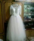 Свадебное платье и все необходимое к нему, платье по щиколотку при невысоком росте, Умет