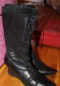Ортопедические стельки для обуви на высоком каблуке, сапоги осень-весна, 36 размер. Нат. кожа, Боровск