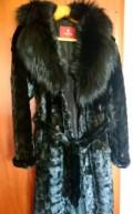 Свадебное платье и черная шуба, шуба норковая из кусочков, Большая Черниговка