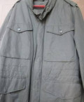 Белая рубашка с синими джинсами, куртка на крупного мужчину, Неман