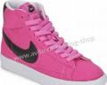 Обувь на высокой сплошной платформе, замшевые Кеды Nike Blazer Mid Vintage 539930, Новопокровка